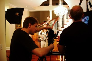 Billy and Lance hard at work..........they were a lot of fun to work with!